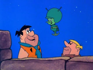 Fred, Barney and The Great Gazoo