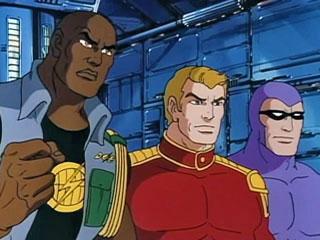 Lothar, Flash Gordon and The Phantom